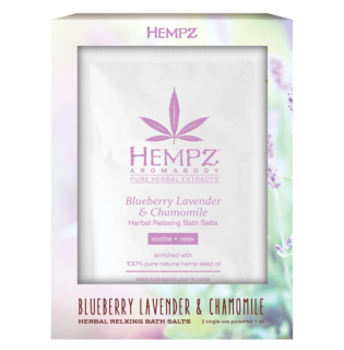 Hempz® Aromabody Blueberry Lavender & Chamomile Herbal Relaxing Bath Salts