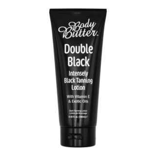Double Black™ Tanning Lotion Intensely Black Tanning Lotion