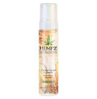 Hempz® Fresh Fusions Citrine Crystal & Quartz Herbal Foaming Body Wash