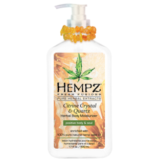 Hempz® Fresh Fusions Citrine Crystal & Quartz Herbal Body Moisturiser