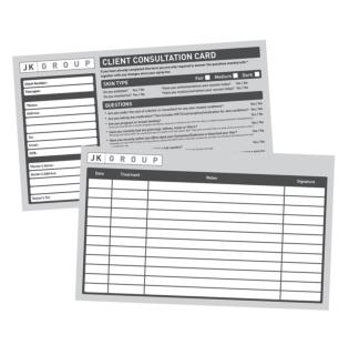 Client Consultation Cards