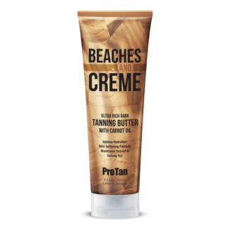 Beaches And Crème™ Ultra Rich Dark Tanning Butter With Carrot Oil