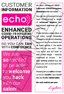 Echo - Customer Information Leaflet