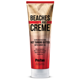 Beaches and Crème™ Sizzling Hot Tanning Butter With Carrot Oil