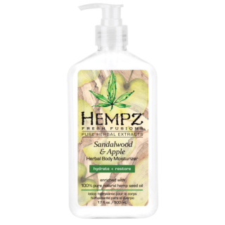 HEMPZ® FRESH FUSIONS SANDALWOOD & APPLE HERBAL BODY MOISTURIZER