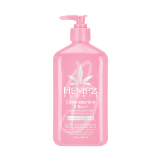 HEMPZ® SWEET JASMINE & ROSE COLLAGEN INFUSED HERBAL BODY MOISTURIZER