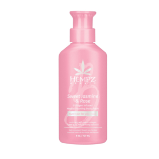 HEMPZ® SWEET JASMINE & ROSE COLLAGEN INFUSED HERBAL HERBAL FOAMING BODY WASH